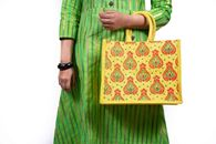 Picture of JUTE BAG ULH00308 BK000273