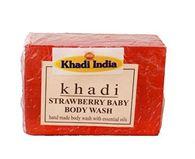 KHADI STRAWBERRY BABY BODY WASH