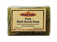 KHADI BASIL SCRUB SOAP
