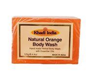KHADI NATURAL ORANGE BODY SOAP